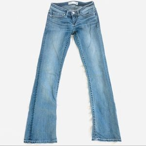BKE Stella Bootcut Stretch Jeans Slim Fit Low Rise